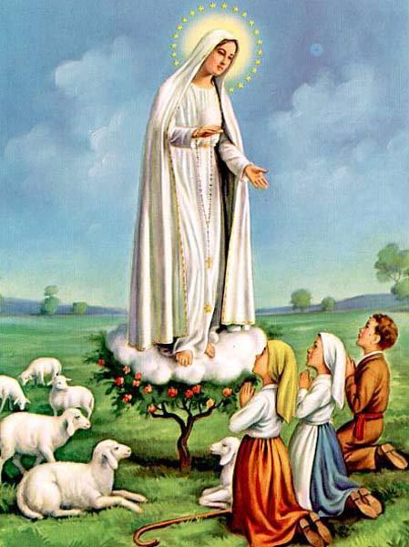 Resultado de imagem para nossa senhora de Fatima